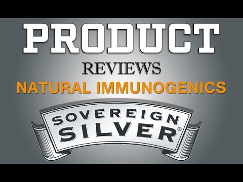 Natural Immunogenics High Quality, Biologically Active Silver Hydrosol