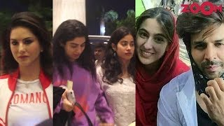 Bollywood celebrities spotted at restaurant and airport | Ananya Panday, Janhvi Kapoor, Sunny Leone