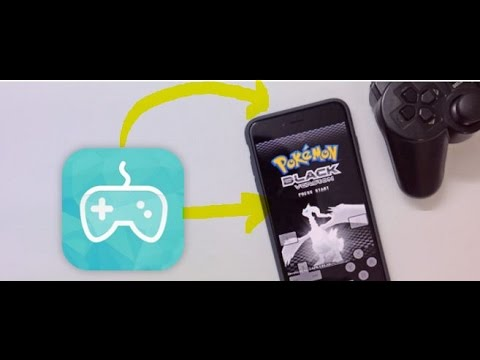 [NewGamepad Emulator for iOS 10/9/8] Play N64, PSP, PS1, GBA, MAME, ARCADE work 100% No Jailbreak