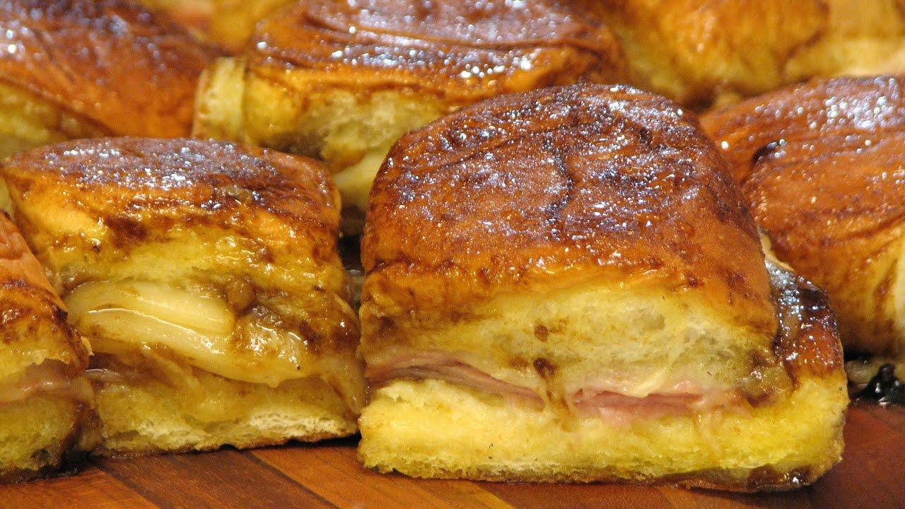 Hot Ham And Swiss Cheese Sandwiches Lynn S Recipes