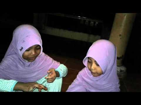 Aulia(hafidz Qur'an RCTI 2015)Bermain sambil ngaji