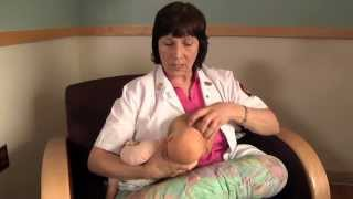 Breastfeeding - How to do the Clutch Hold