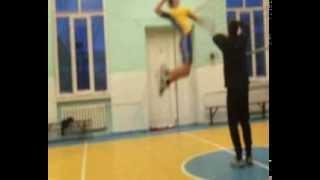Волейбол прыжок