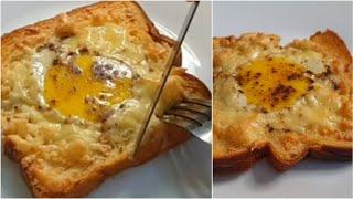 Baked Cheesy Egg Toast ♥️ | Asaan Aur Healthy Breakfast Recipe ♥️