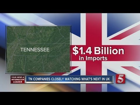 Tennessee Businesses Watch Brexit Closely