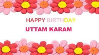 UttamKaram   Birthday Postcards & Postales - Happy Birthday