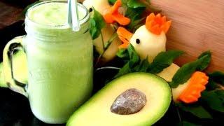 How To Make Avocado Smoothie   Amazing Avocado Smoothie Recipes   鳄梨的做法大全_牛油果汁怎么做好吃