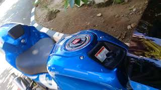 Modifikasi simple suzuki gsx r150 triton blue