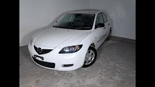 Automatic 4cyl Mazda 3 Sedan with Low KMs 2007 Review For Sale