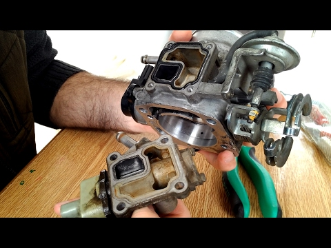 3rz-fe IAC VALVE GASKET change and THROTTLE BODY cleaning