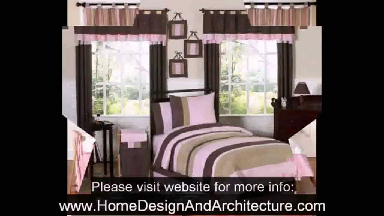 Pink and Brown Bedroom Decoration - YouTube
