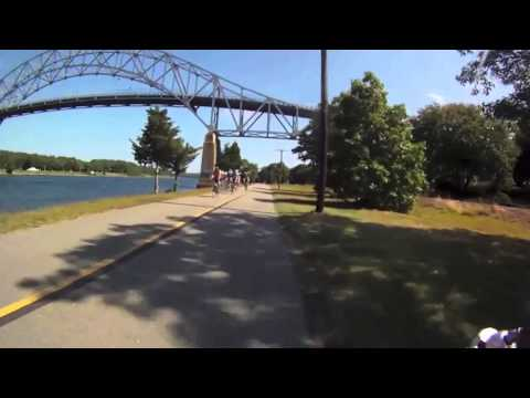 Cape Cod Canal Sept 2014 Virtual Cycling bike training
