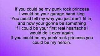 Punk Rock Princess (with lyrics)
