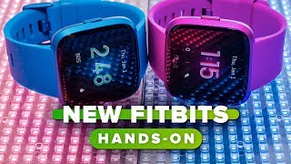 Fitbit Versa Lite and Inspire hands-on