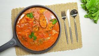 рыба в томатном соусе    Вкусная рыба