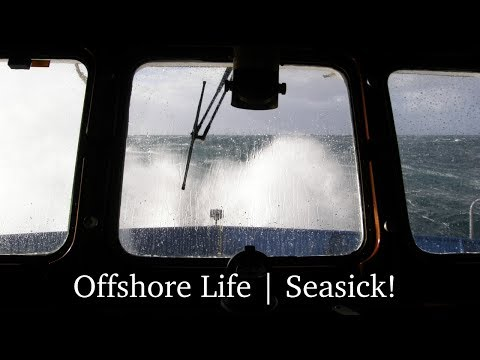 Small ship hit by big waves in North Atlantic: Seasick! | Offshore Life