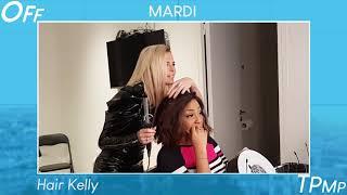 Le OFF de TPMP : Cyril Hanouna déchaîné dans les loges, Kelly Vedovelli se prend pour une coiffeuse
