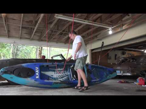 DIY Kayak Hoist