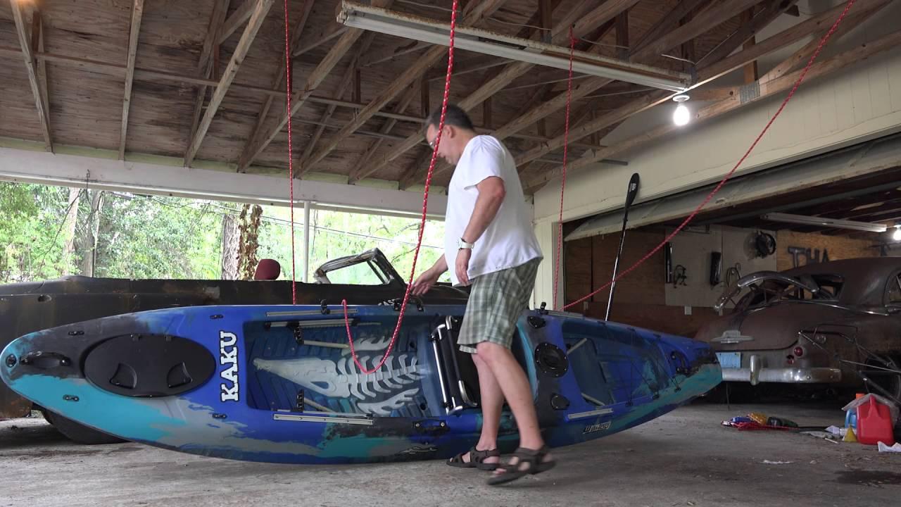 Diy Kayak Hoist Youtube