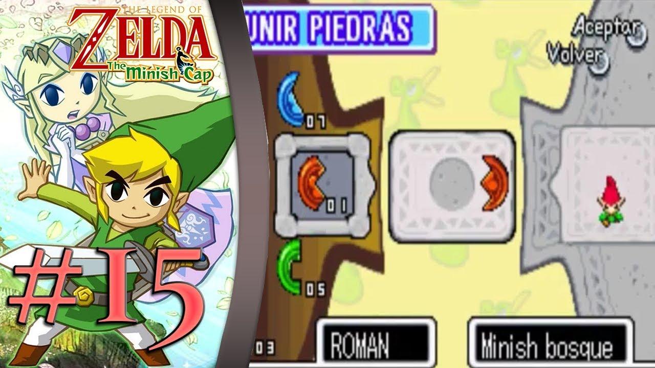 Guia Zelda Minish Cap Capitulo 15 Probando Suerte Youtube