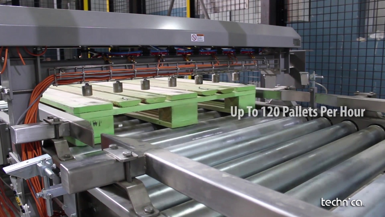 Pallet Inspection System Plastic & Wood - YouTube