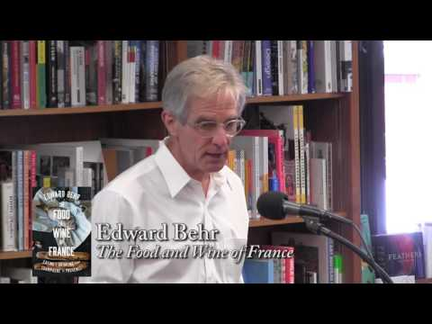 """Edward Behr, """"The Food and Wine of France"""""""