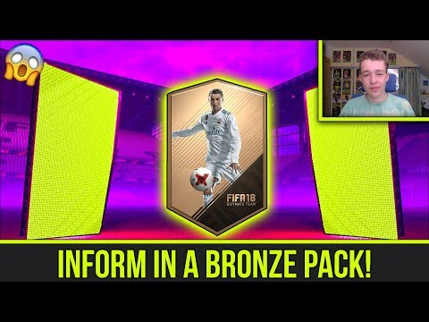 INFORM IN A BRONZE PACK! SBC'S TO GLORY #1   FIFA 18 CZ