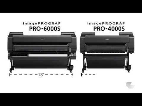 Introducing the New Canon imagePROGRAF PRO-4000S and PRO-6000S