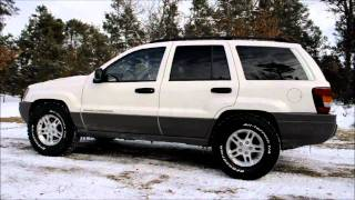 2002 Jeep Grand Cherokee Laredo WJ with 4 inch BDS Suspension Lift Before and After