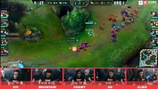 《ahq 開mic啦》2017 LMS Playoff vs JT Game 2