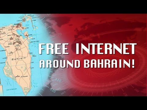 Free internet around Bahrain
