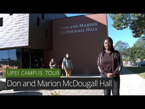 Don and Marion McDougall Hall - UPEI Campus Tour