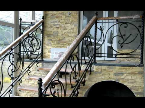 Лестничные ограждения из нержавеющей стали, перила