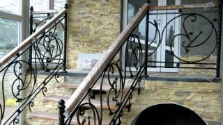Перила 93  Металлическая лестница в частном доме перила Днепр фото кованые перила для лестницы(, 2016-11-04T13:38:36.000Z)
