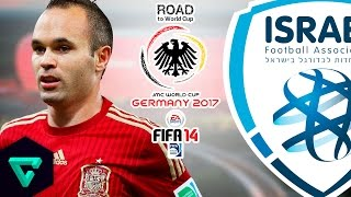 Video Spain vs. Israel | Final Match | Road To World Cup Germany 2017 | FIFA 14 download MP3, 3GP, MP4, WEBM, AVI, FLV April 2018