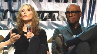 Michael Dorn, Gates McFadden and Denise Crosby at STLV - 8-3-18