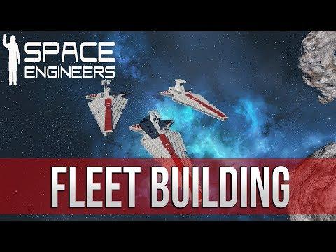 Space Engineers - Let's build a FLEET!