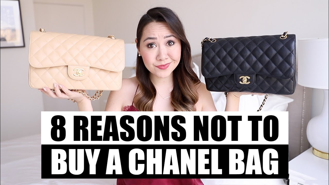 91e5f8b0bd06 8 Reasons Why You SHOULDN'T Buy a Chanel Bag. Chase Amie