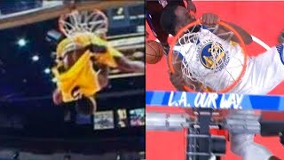 Draymond Green gets a technical foul after powerful dunk | Warriors vs LA Clippers