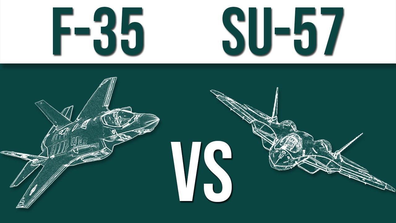 Download F-35 vs SU-57 - which would win?