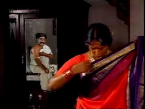 KR Vijaya exposed in saree thumbnail