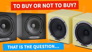 Auratone Super Sound Cubes   Mix Cubes   Do You NEED Them In 2021?