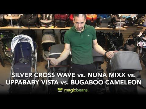 Silver Cross Wave Vs Bugaboo Cameleon Vs Nuna Mixx Vs Uppababy Vista