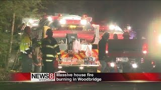 Massive Fire Rips Through Woodbridge Building