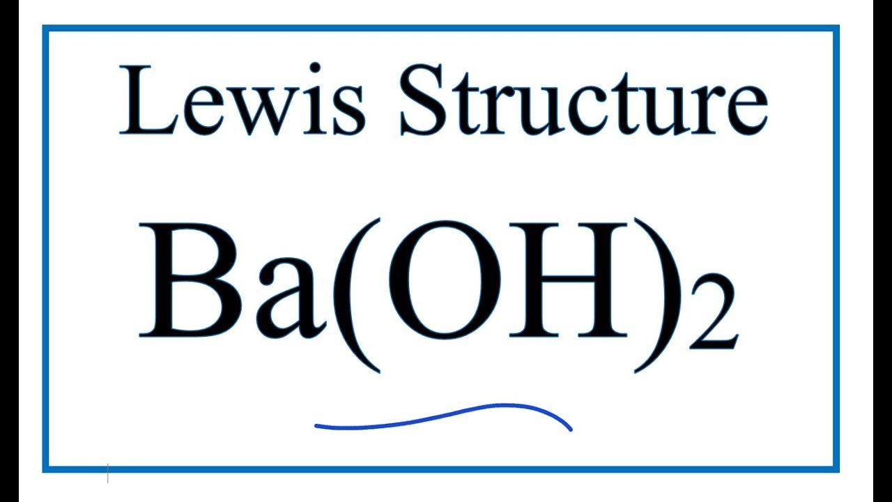 how to draw the lewis dot structure for ba(oh)2 barium hydroxidehow to draw the lewis dot structure for ba(oh)2 barium hydroxide