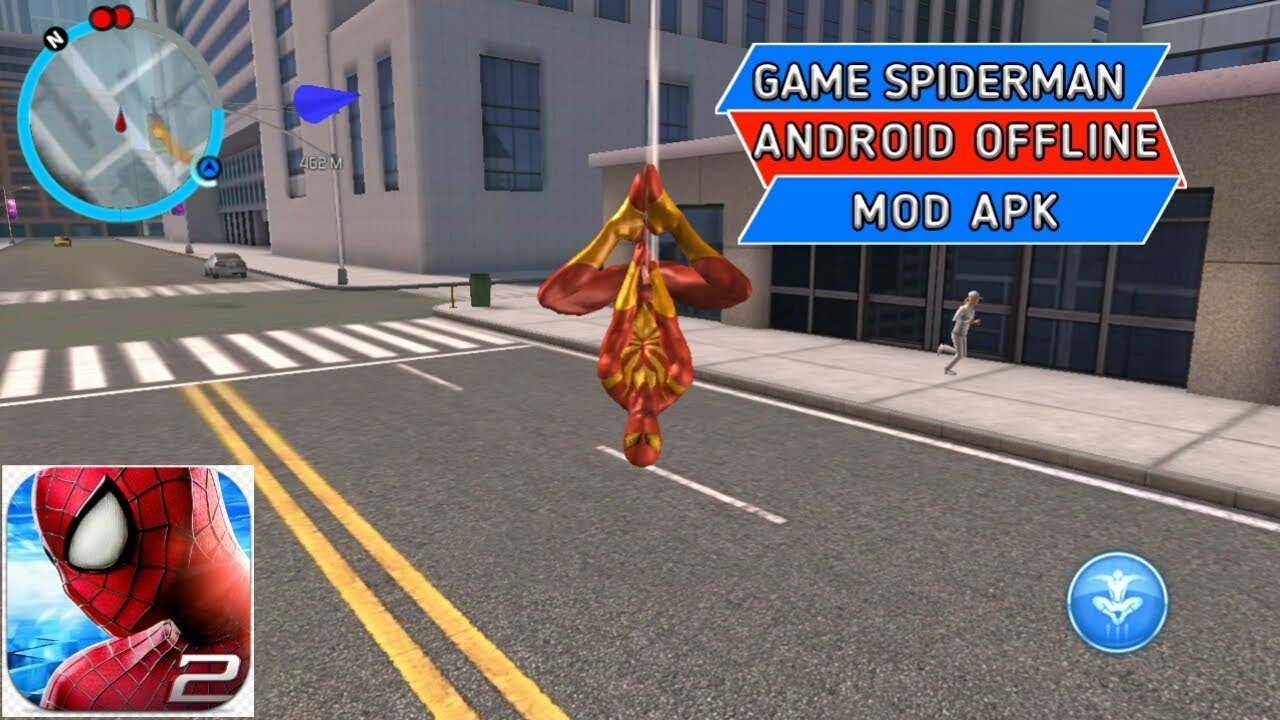 Game spiderman android offline mod apk - YouTube