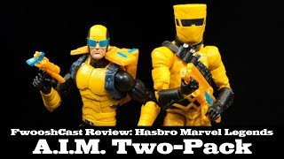 FwooshCast Review: Marvel Legends A.I.M. Soldier 2-Pack Hasbro Review