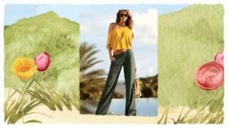 видео С чем носить женские брюки из льна?