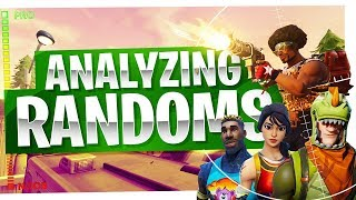 How to Win in Fortnite - Analyzing Random Players - Good & Bad Plays in Fortnite Battle Royale