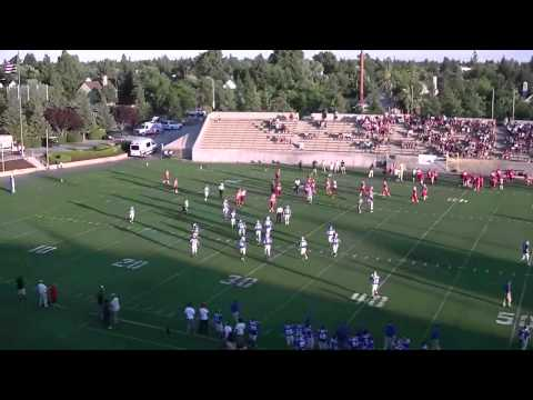 Fresno/City Vs County Football All Star Game 2012  1st Qtr Part 1